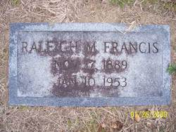 Raleigh Milton Francis