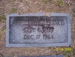 Annie <i>Spence</i> Francis