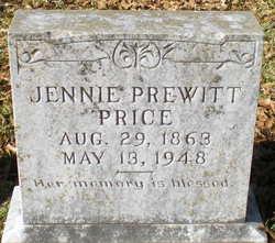 Jennie <i>Prewitt</i> Price