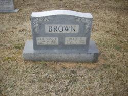 Olive Gertrude Ollie <i>Rothrock</i> Brown