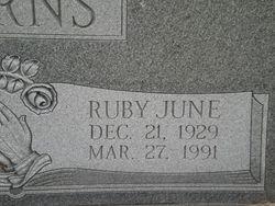 Ruby June Burns