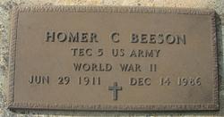 Homer C Beeson