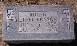 Ethel <i>Rosson</i> Roden