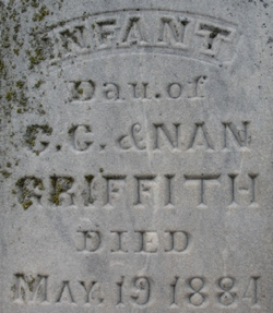 Infant Daughter Griffith
