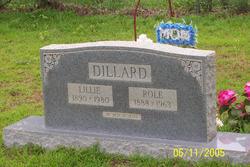 Roland Newton Role Dillard
