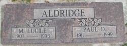 Mary Lucile <i>Peak</i> Aldridge