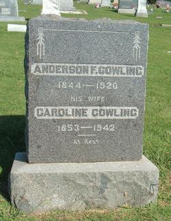 Caroline Mississippi Callie <i>Fox</i> Cowling