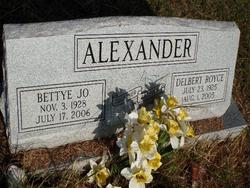 Bettye Jo <i>Andrews</i> Alexander