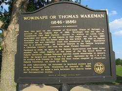 Thomas <i>Wowinape</i> Wakeman