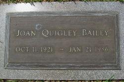 Joan <i>Quigley</i> Bailey