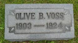 Olive B <i>Schwartz</i> Voss