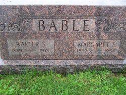 Margaret Eva <i>Wolfe</i> Bable