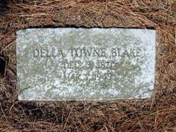 Della <i>Towne</i> Blake