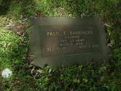 Frederick Edward Barringer