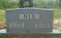 Jean Ferrell <i>Moore</i> Nix