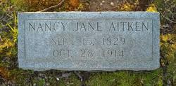 Nancy Jane <i>Nevill</i> Aitken