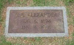 Sam E. Alexander