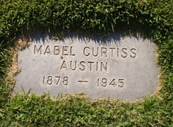Mabel Curtiss <i>Curtis</i> Austin