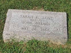 Sarah E. <i>Love</i> Dillard