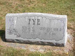 Genevieve Ann D <i>Last</i> Fye