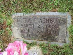Bertha <i>Tilley</i> Ashburn
