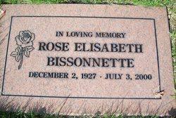 Rose Elisabeth <i>Seiler</i> Bissonnette
