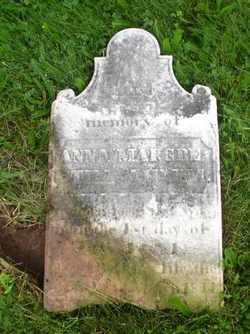 Anna Margaretha <i>Yost</i> Ahlum