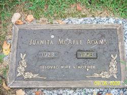 Juanita <i>McAfee</i> Adams