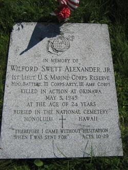 Wilford Sweet Alexander, Jr
