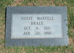 Violet <i>Manville</i> Braly