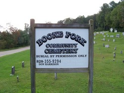 Boone Fork Community Cemetery