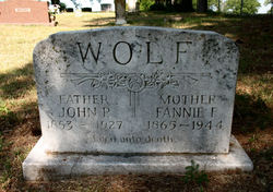 Frances Forrest Fannie <i>Luther</i> Wolf