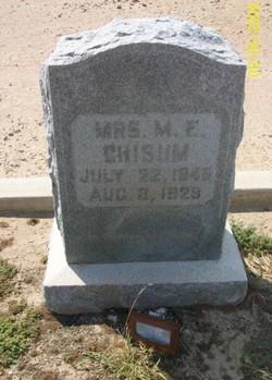 Mary Emily <i>Chisum</i> Chisum