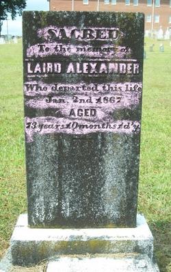 Laird Alexander