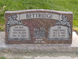Eva May <i>Henderson</i> Bettridge