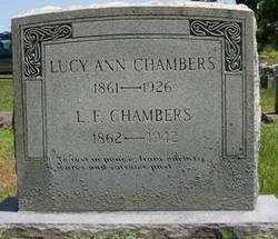 Lucy Ann <i>Johnson</i> Chambers