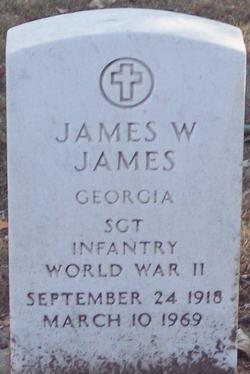 SGT James W James
