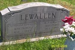 Catherine <i>Powers</i> Lewallen