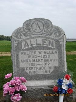 Walter W Allen