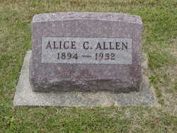 Alice Catherine <i>Hufford</i> Allen