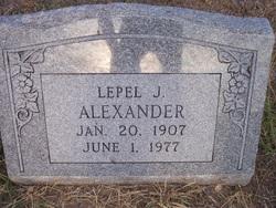 Lepel Johnson Alexander
