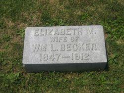 Elizabeth M. <i>Matthews</i> Belker