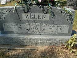 Emma L <i>Diffey</i> Allen