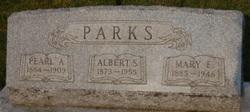 Pearl A. <i>Biddle</i> Parks