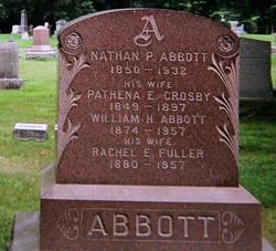 Rachel E <i>Fuller</i> Abbott