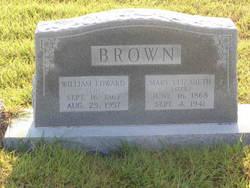 Mary Elizabeth Lizzie <i>Barham</i> Brown