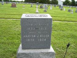 Martha Jane <i>Rollins</i> Allen