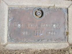 Elva Louise <i>Bennett</i> Espinosa