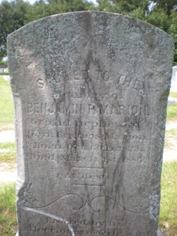 Pvt Benjamin P. Marion