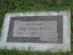 Rose Marie Riddle